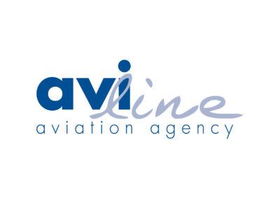 Logo Aviline aviation agency
