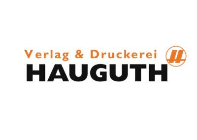 Logo Verlag & Druckerei Hauguth