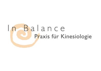 Logo In Balance Praxis für Kinesiologie